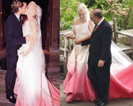 Gwen Stefani 39s John Galliano wedding gown