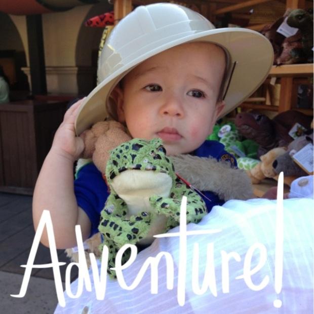 HB's adventure!