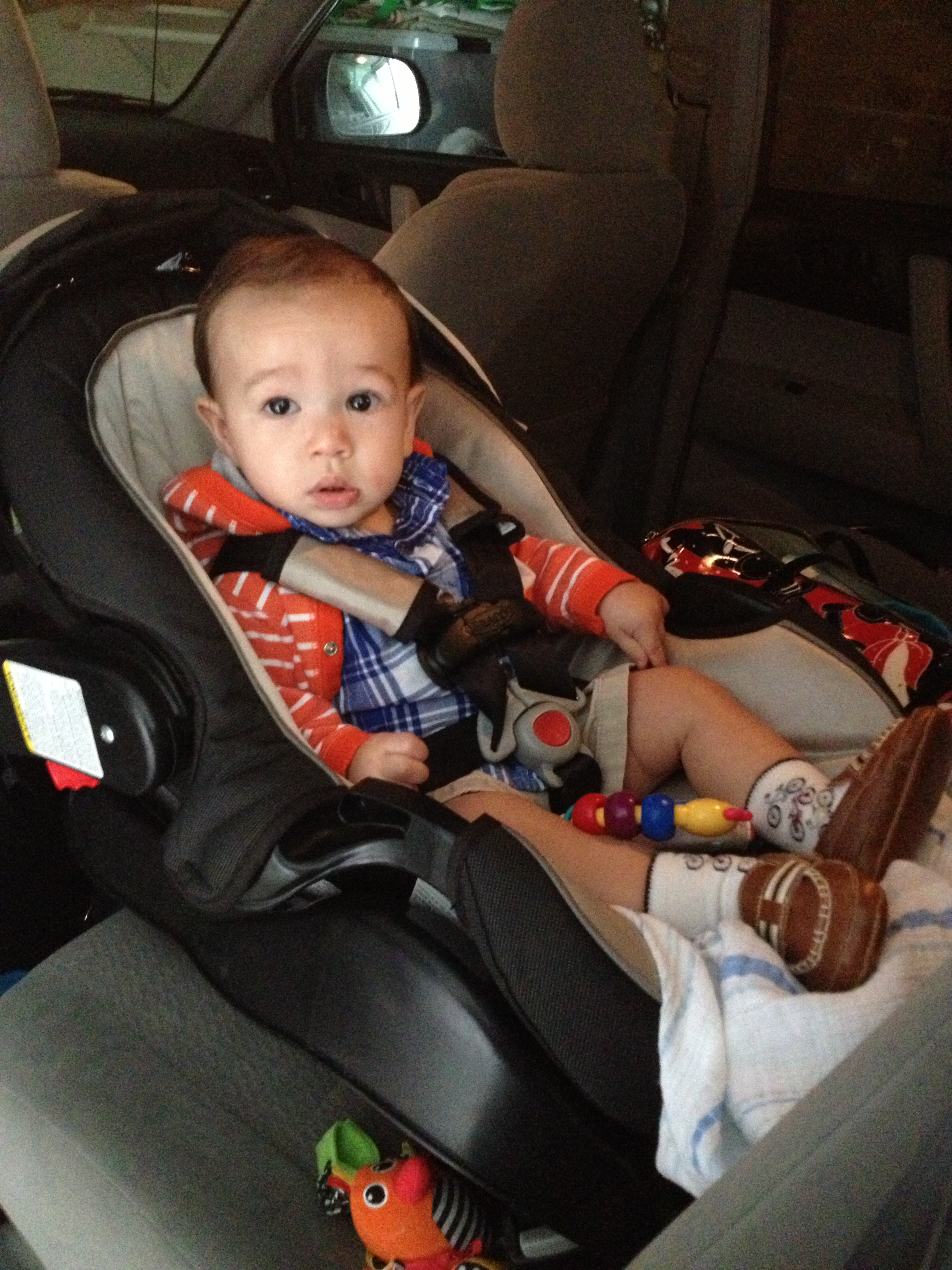 Last day in infant car seat