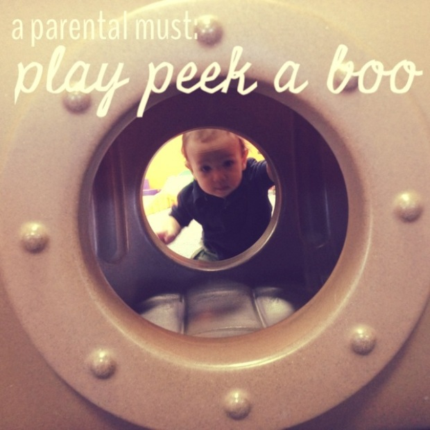 play peek a boo