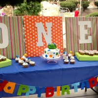 Dinosaur 1st Birthday Party