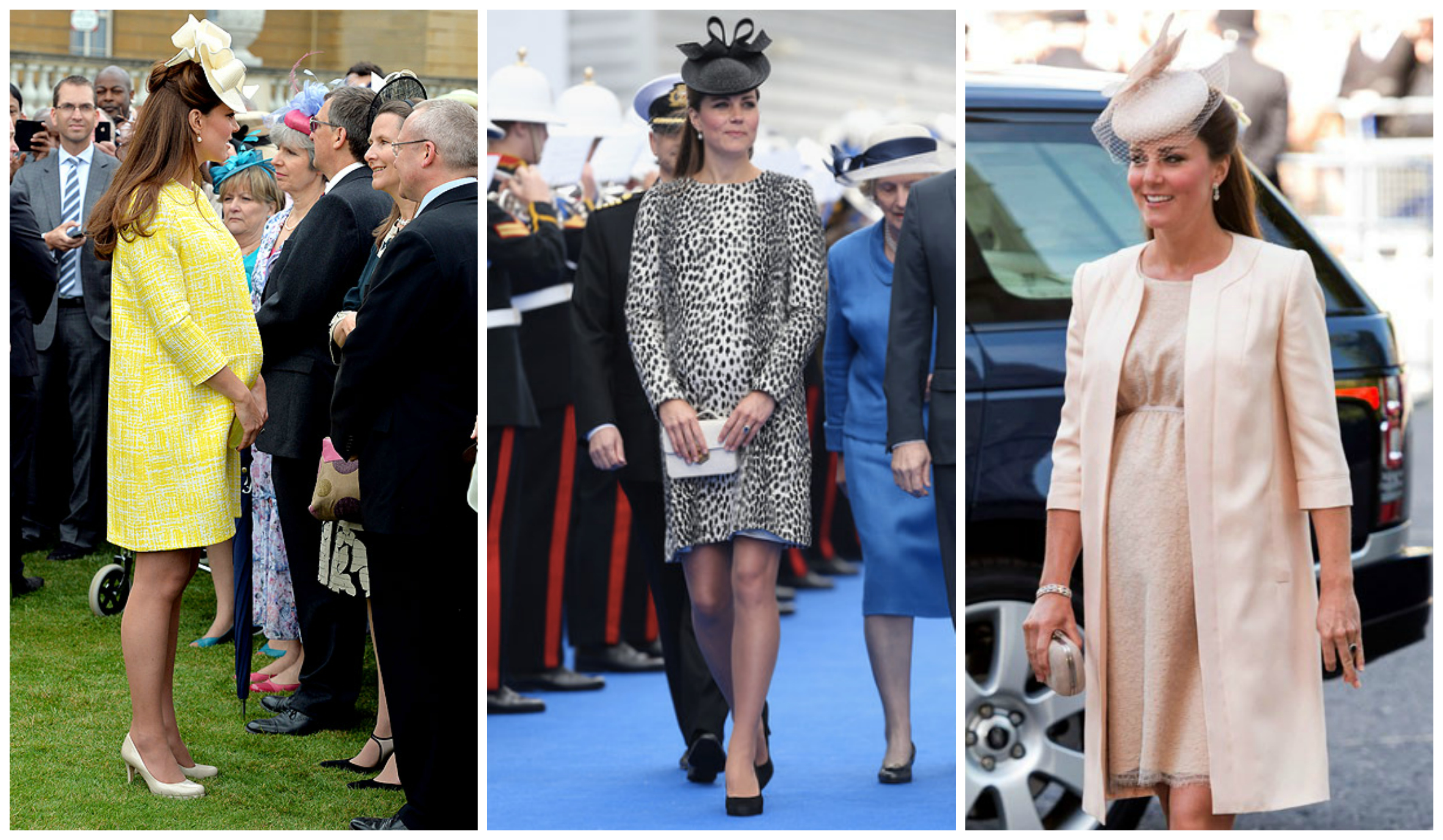 Princess Kate pregnancy outfits