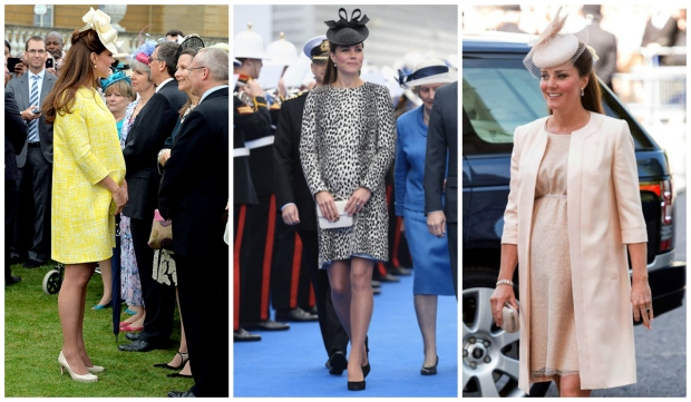 Princess Kate pregnancy outfits