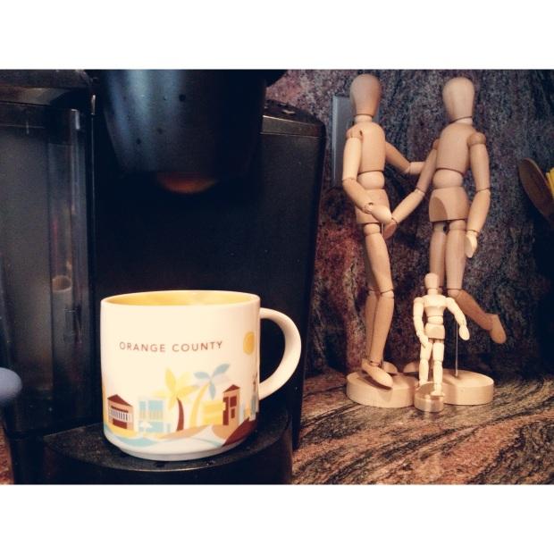 orange county coffee mug