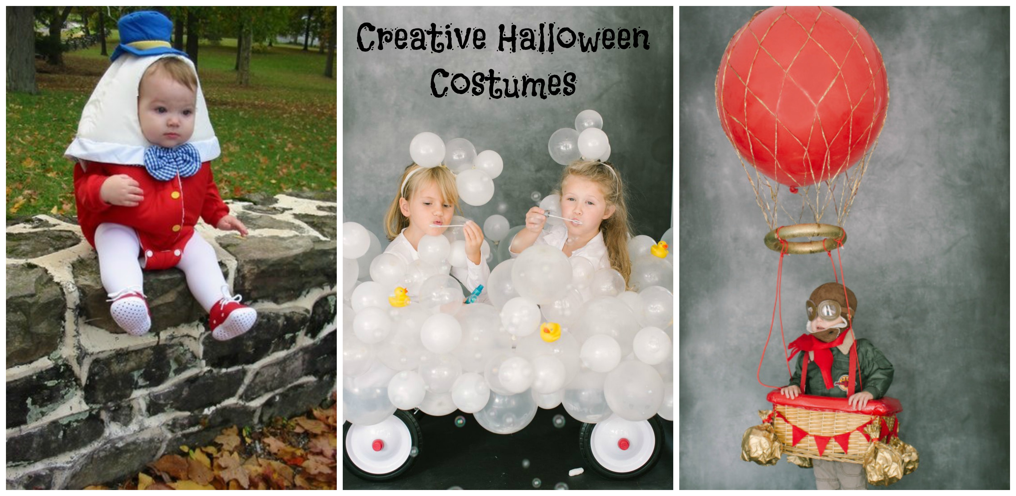 Creative Halloween Costumes Collage