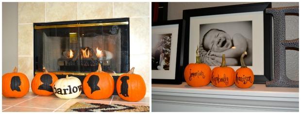 Pumpkin silhouette cameo