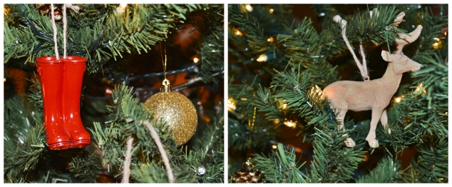 Christmas Tree Decoration Collage
