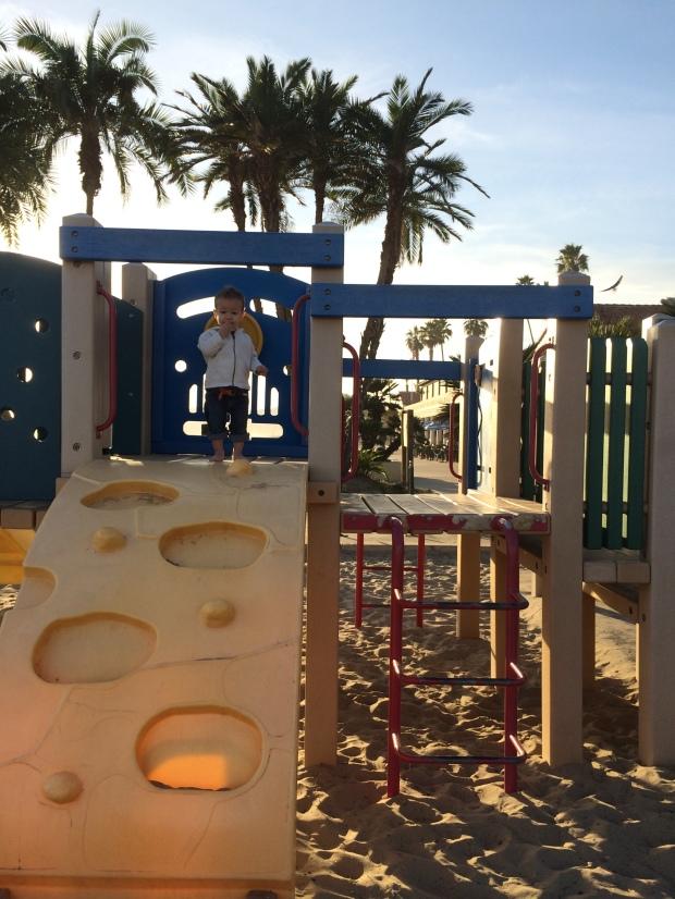 playground on the beach, Santa Barbara