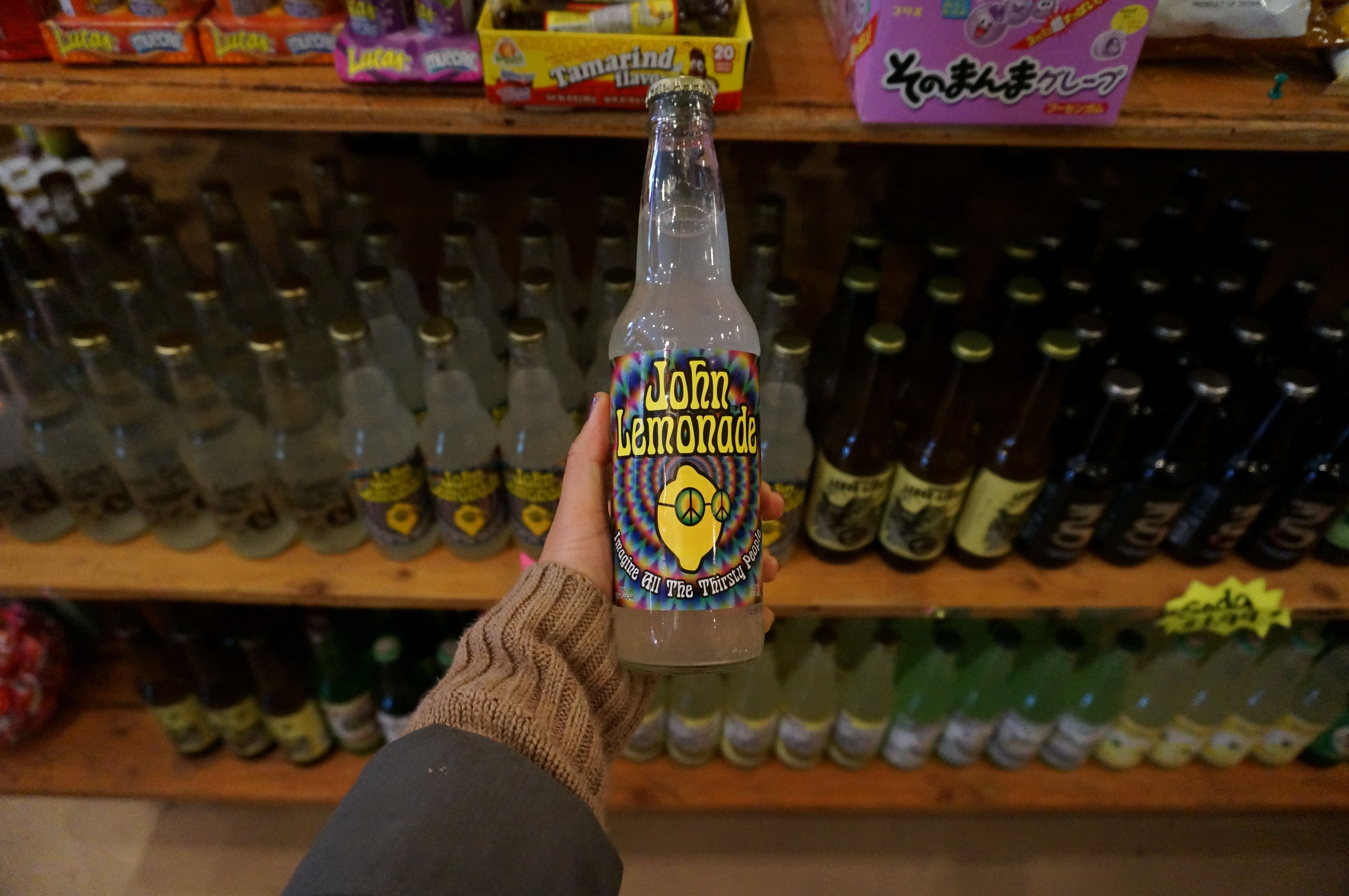 john lemonade soda pop \ sincerely kymberly