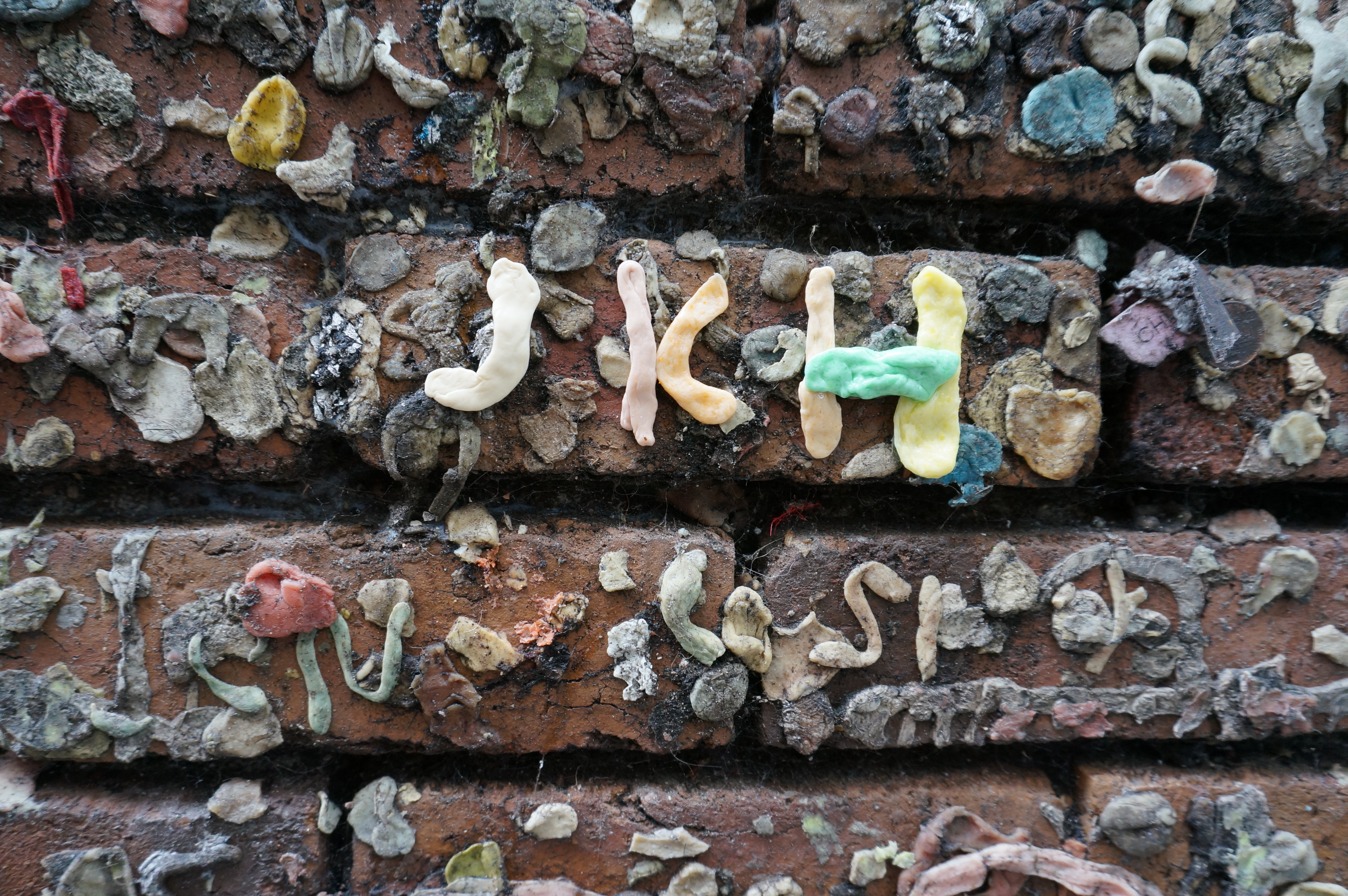 bubble gum alley \ initials