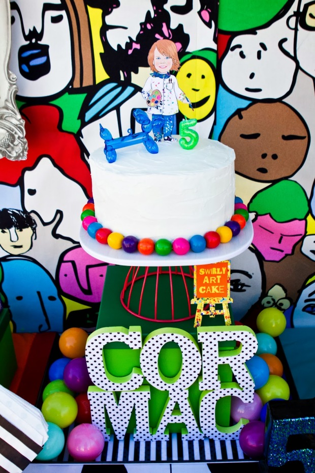 pop art party :: cake