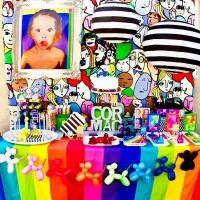 Pop Art {5th} Birthday Party