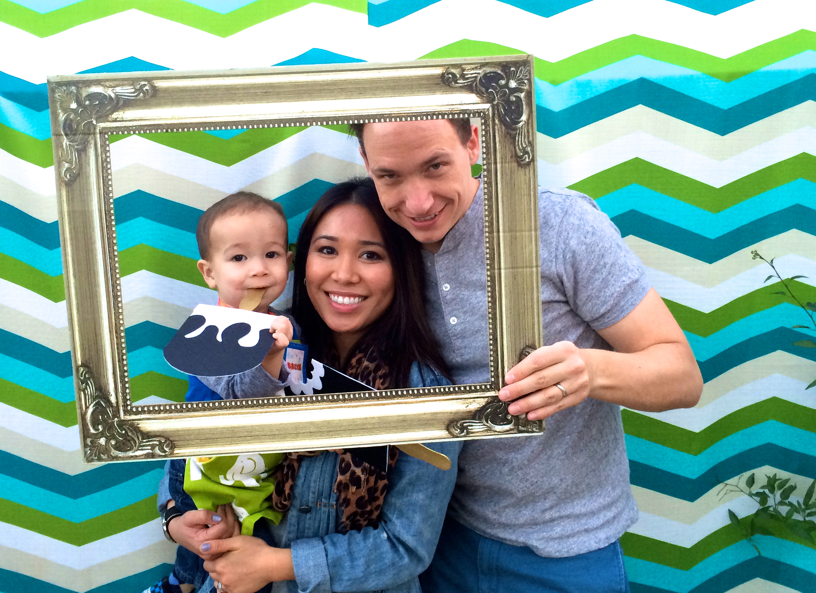 pop art party :: family photo
