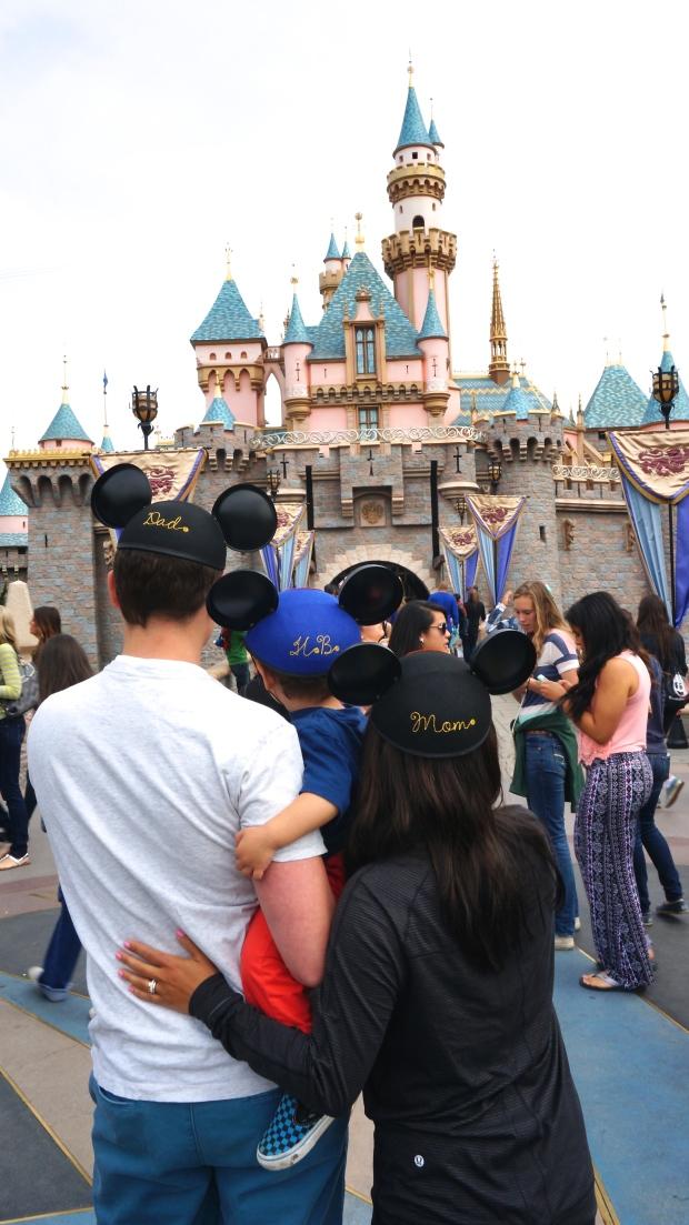 Disneyland // monogrammed mouse ears