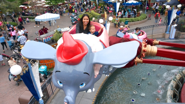 Disneyland // Dumbo ride