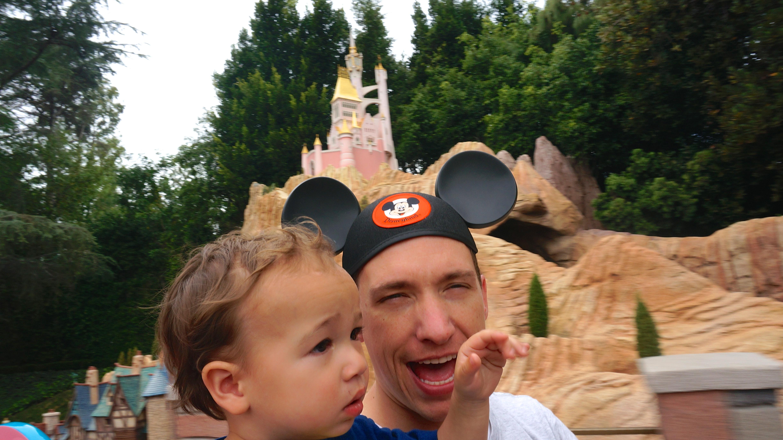 Disneyland // Casey's Train Ride