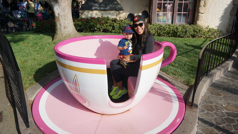 Disneyland // tea cup