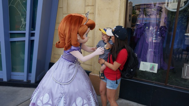 California Adventures // Sofia the First