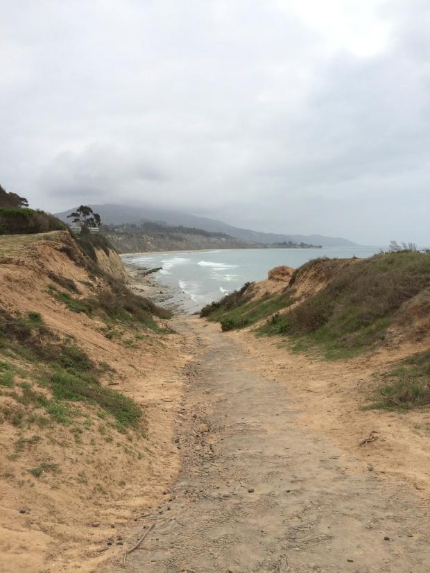 hiking trail  // santa barbara
