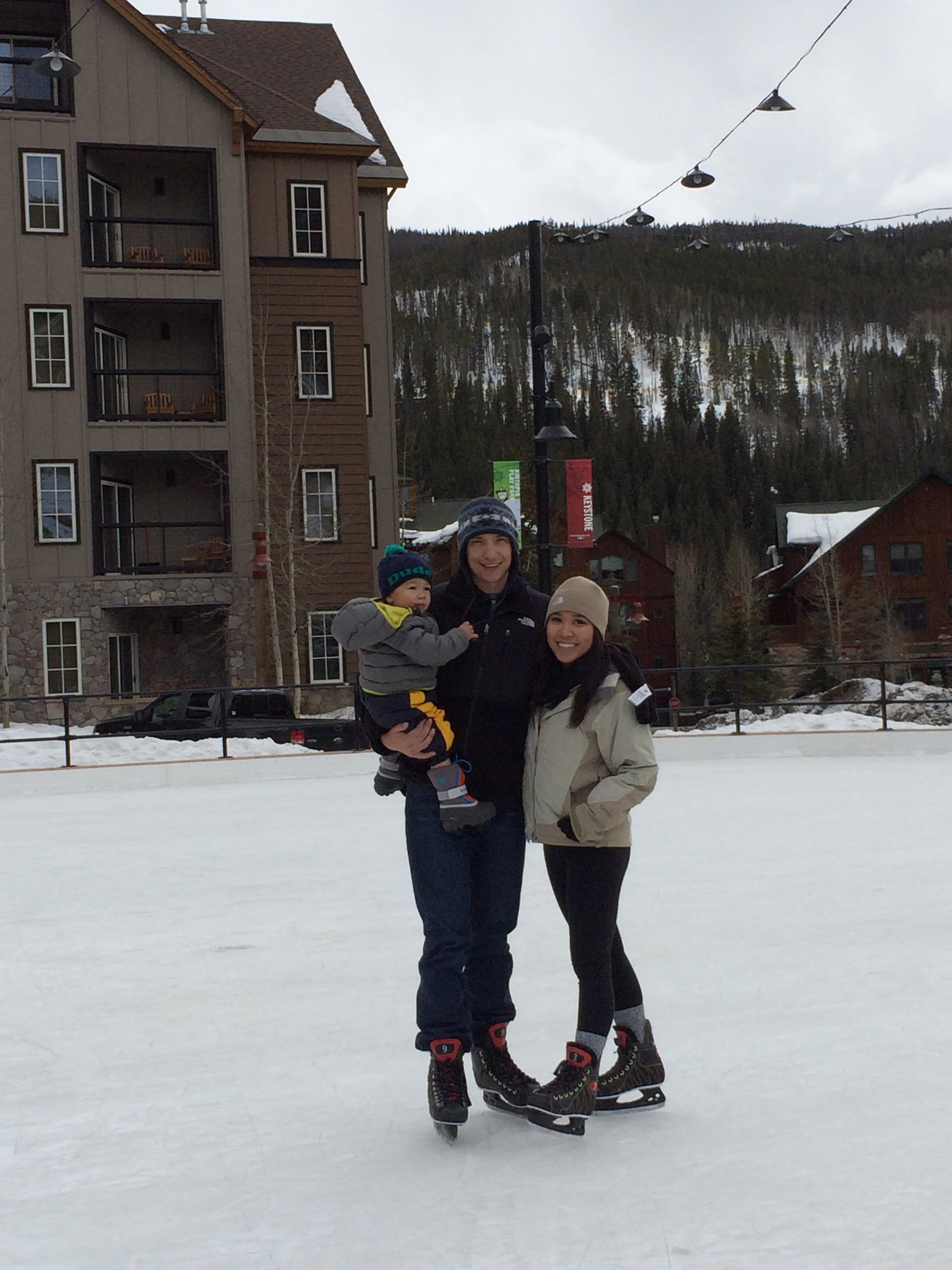 Keystone Colorado // ice skating