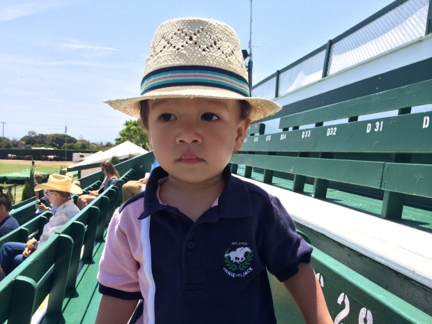 toddler Outfit at Polo Game