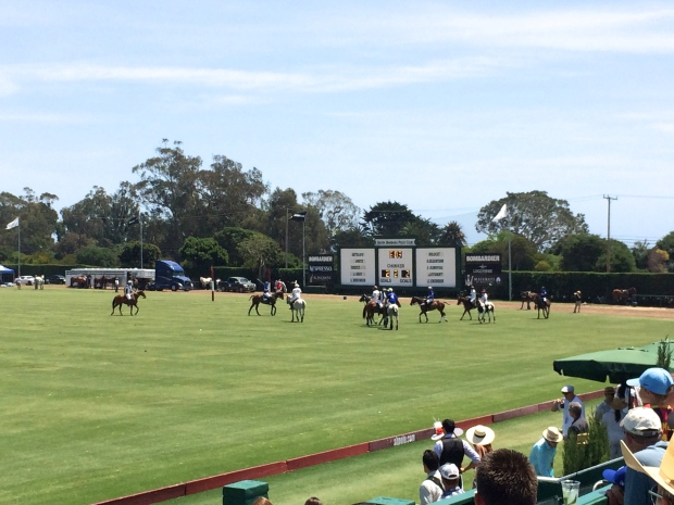 Santa Barbara  Polo Club // Polo Game