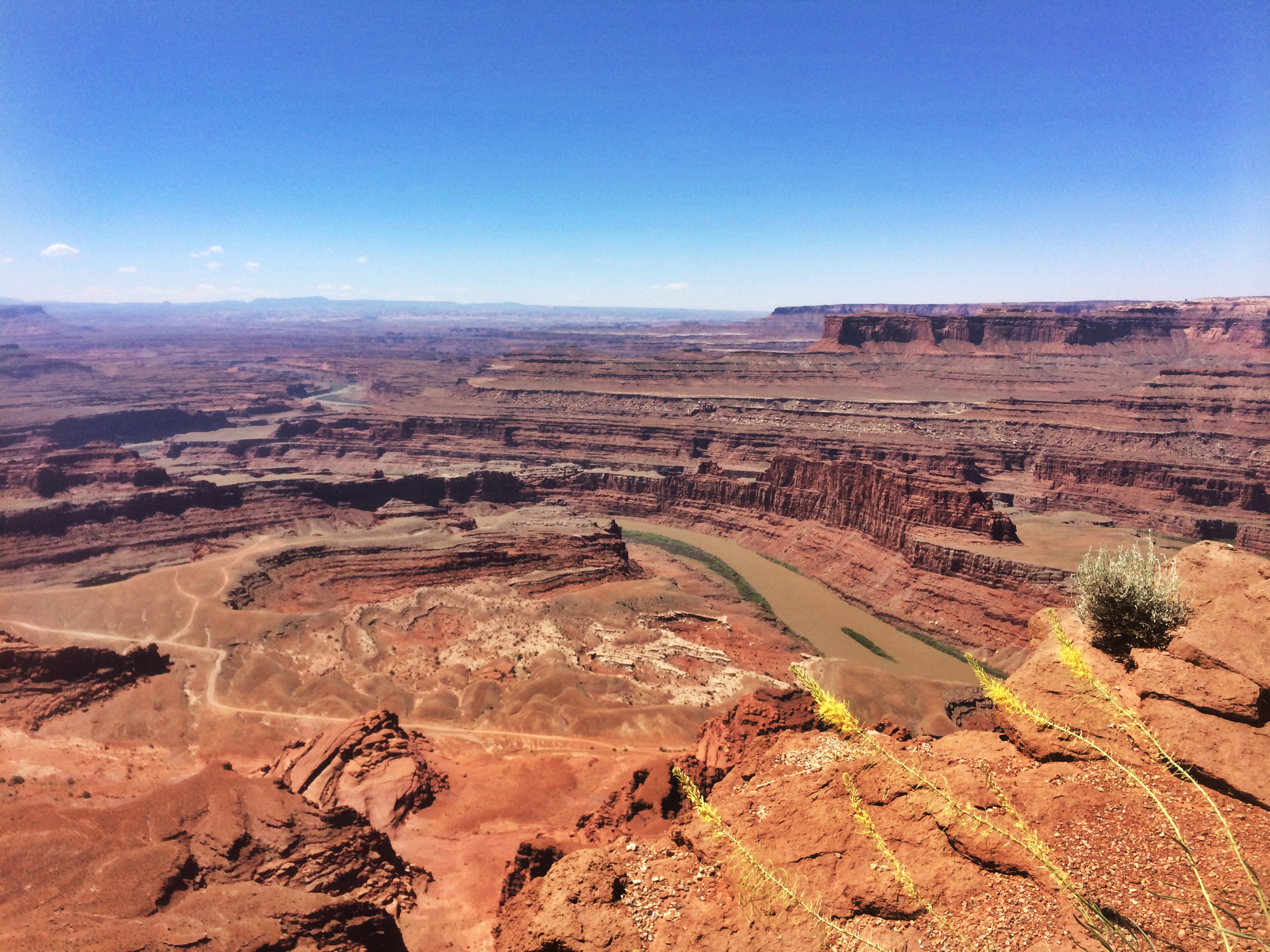 dead horse state park // colorado river // moab utah