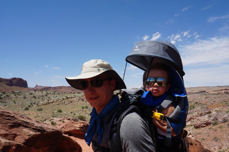 deuter kid carrier // hiking