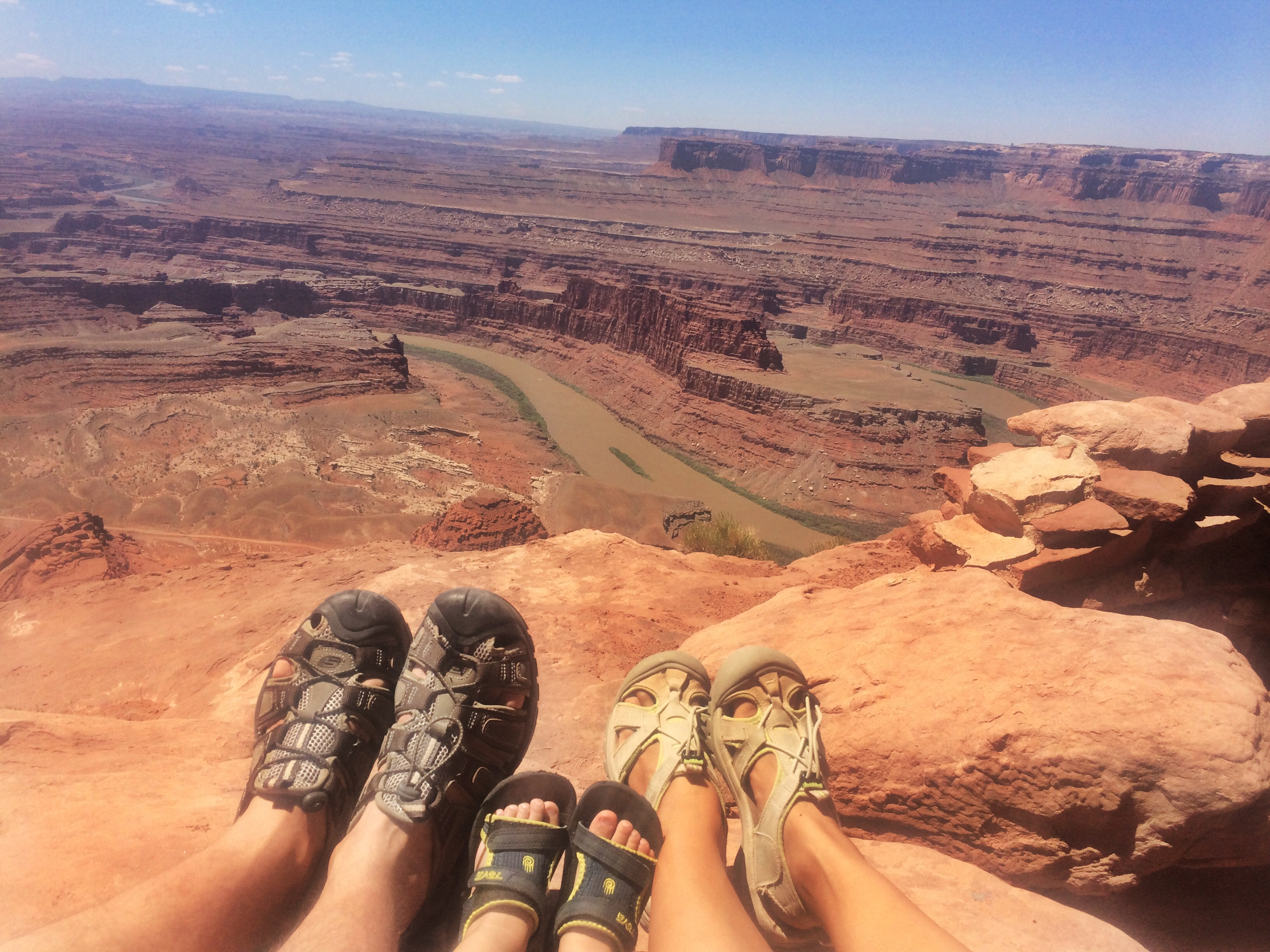 hiking shoes // moab utah