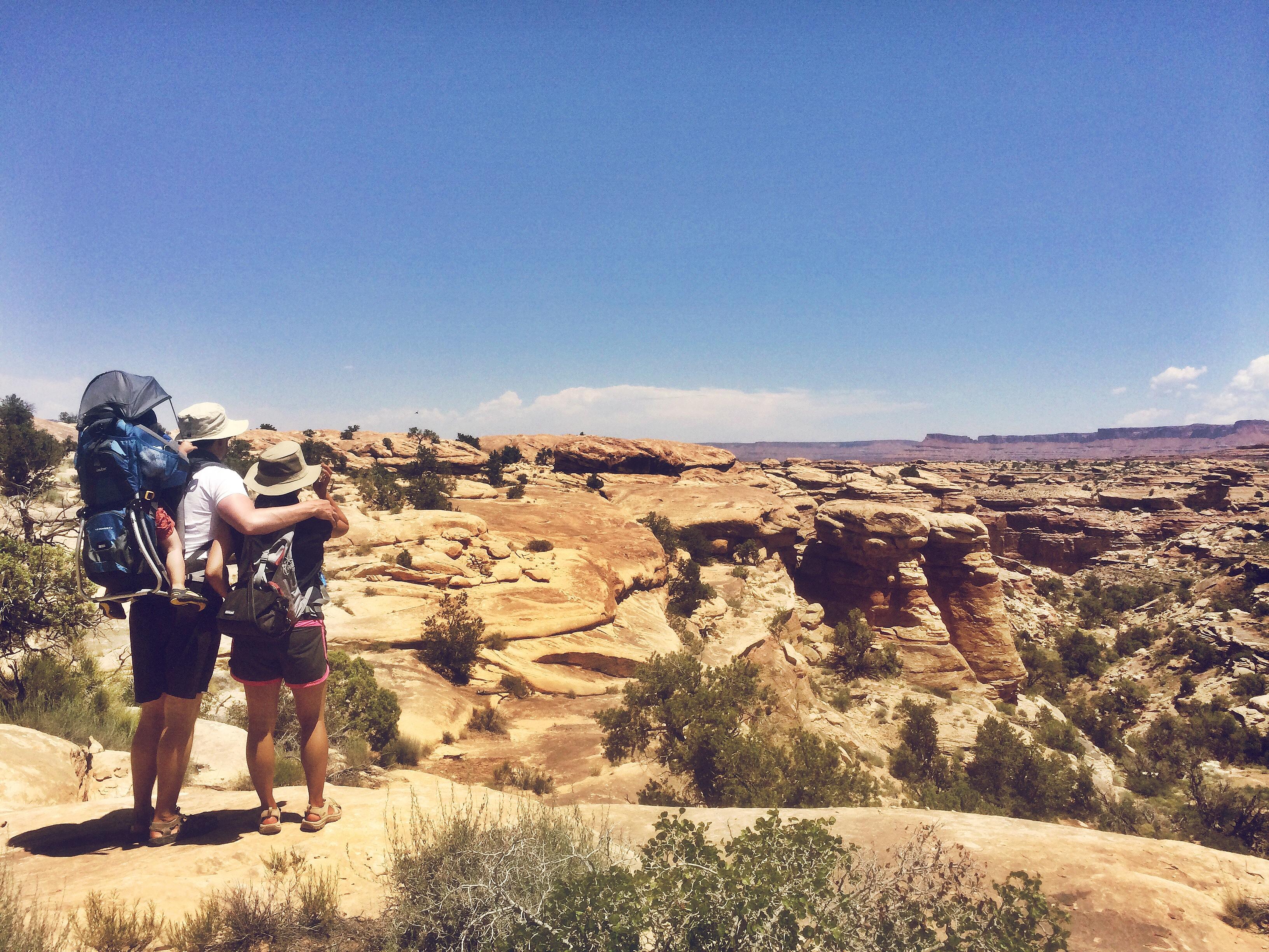 moab utah hike