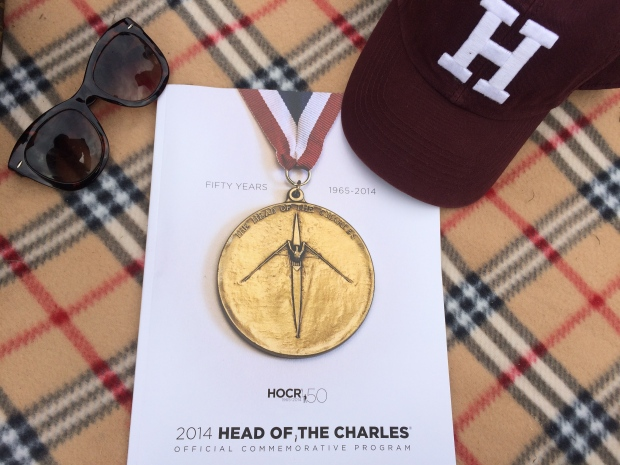 Head of the Charles Regatta program