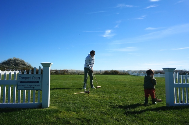 croquet playing in Cape Cod