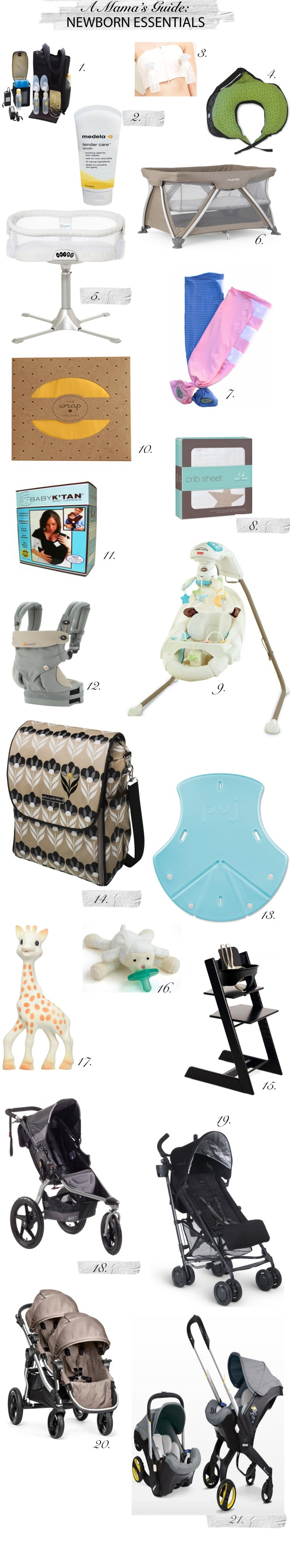 a mama's guide to newborn essentials